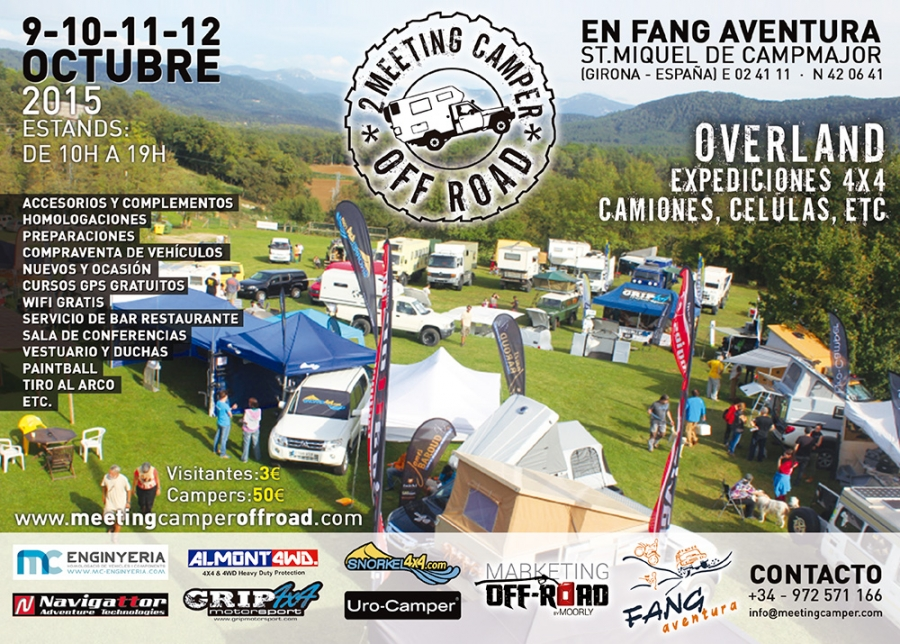 Meeting Camper Off-Road 2015