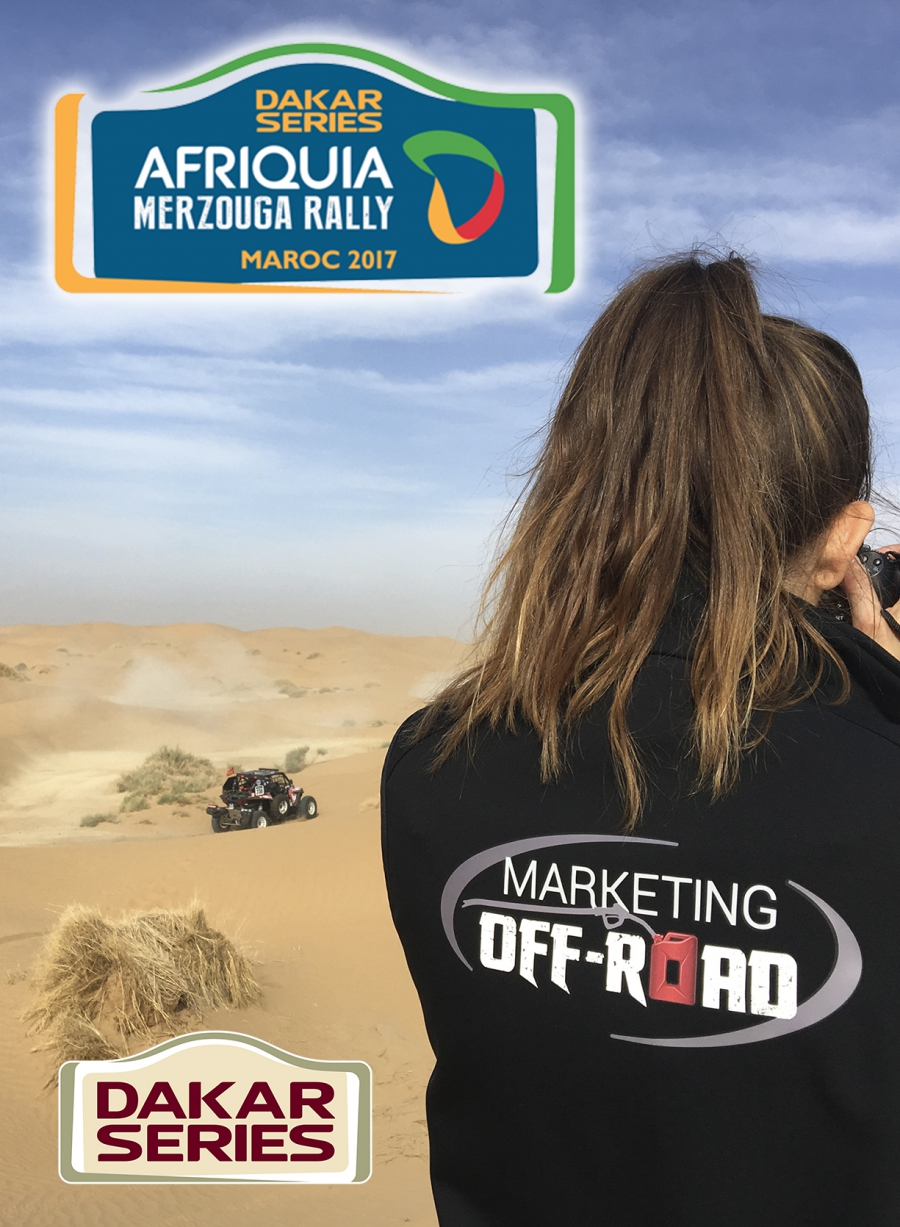 Marketing Off-Road en Merzouga Rally con Yamaha-Trivimon